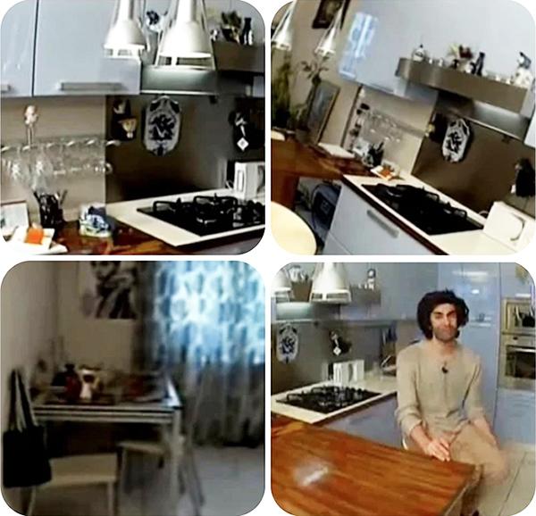 СВЧ, холодильник, посудомойка и духовой шкаф установлены в блоковом пенале