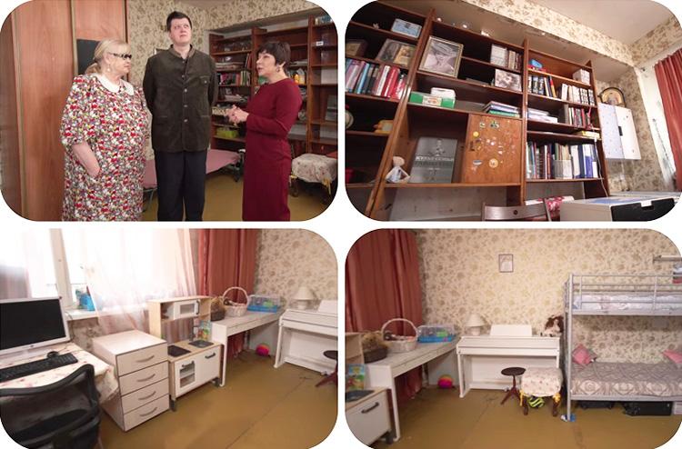 Комната Леонида Филатова до ремонта выглядела не совсем уютно