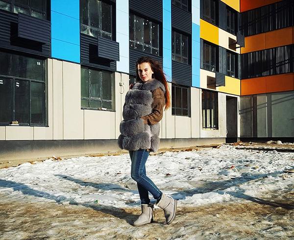 Ольга Ветер и её квартира в Москве