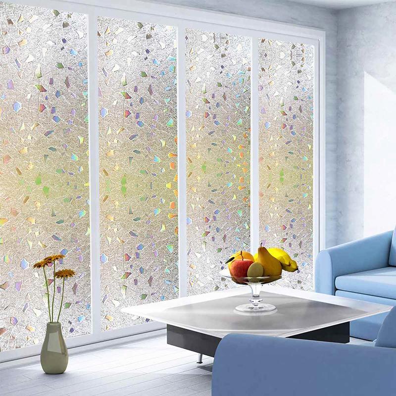 Польза декоративной плёнки на окнах