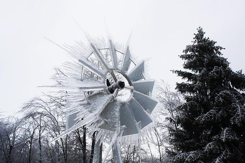 Обледенение ветряков в Германии привело к массовой остановке электростанций