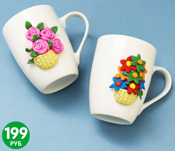 Единственная особенность такой объёмной керамики – её нельзя мыть в микроволновке и в посудомоечной машинке
