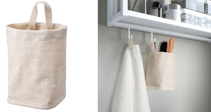 Пластиковое внутреннее покрытие позволяет легко протереть корзину изнутри и делает её более устойчивой