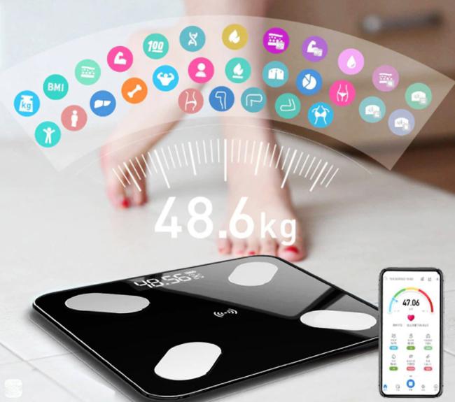 Умные весы отслеживают множество показателей