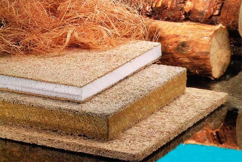 И наконец – при формировании плиты вся древесная шерсть располагается горизонтально, что даёт готовой продукции устойчивость к излому