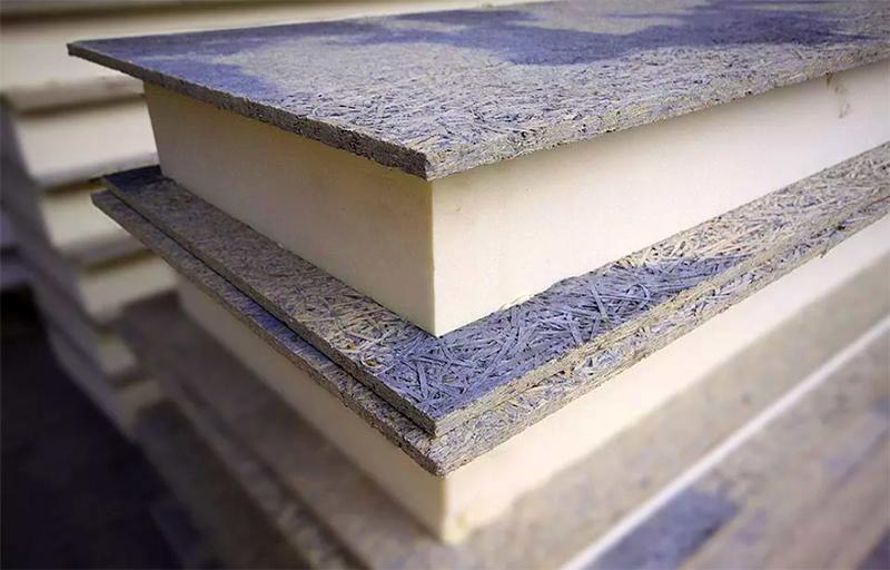 Фибролитовую плиту активно используют в каркасном строительстве