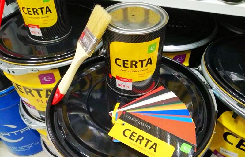 Как сделать жаропрочную краску из подручных ингредиентов