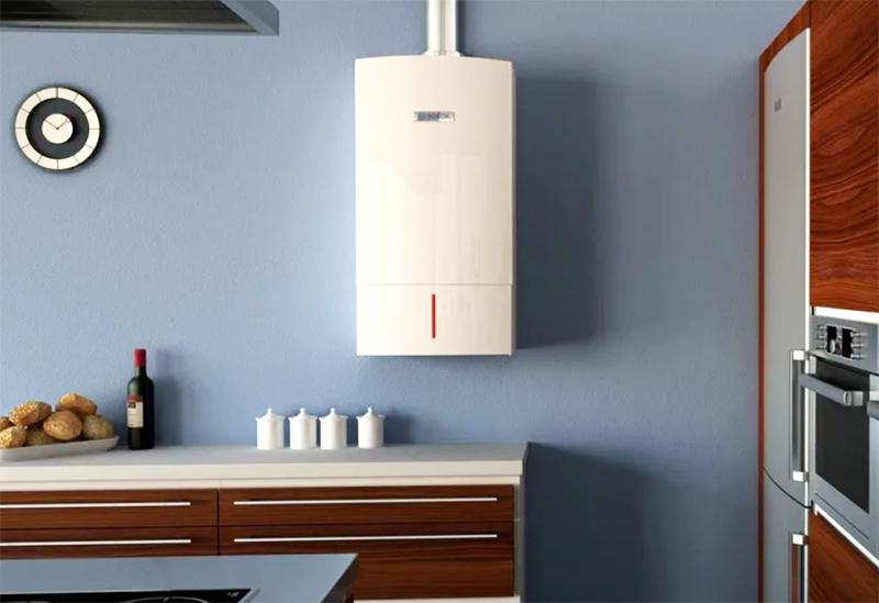К примеру, газовые котлы современных моделей отличаются от каминов и банной печи низкотемпературным режимом