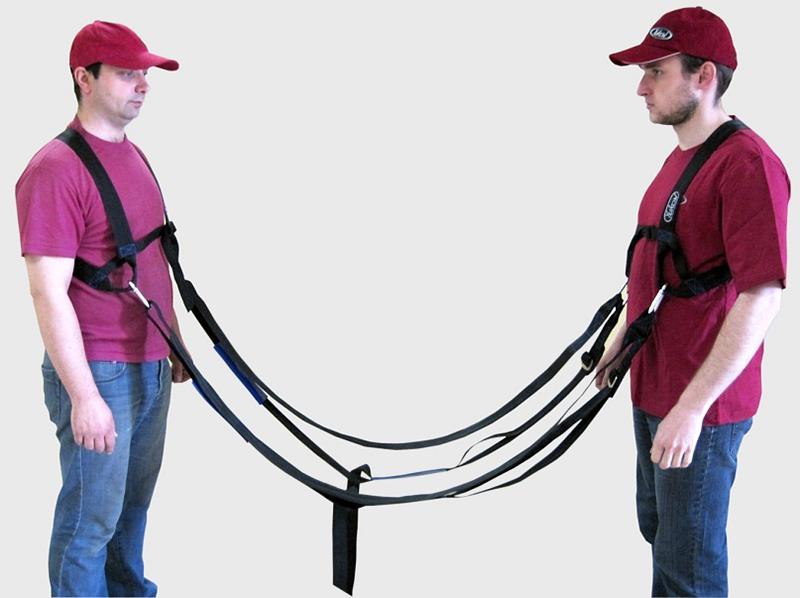Такелажные ремни для нагрузки на плечи