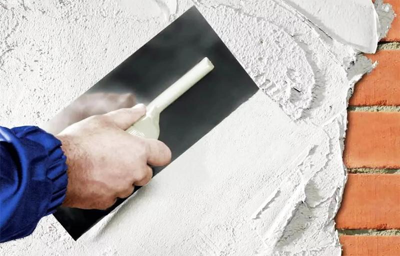 Санирующая штукатурка: новый способ высушить стены