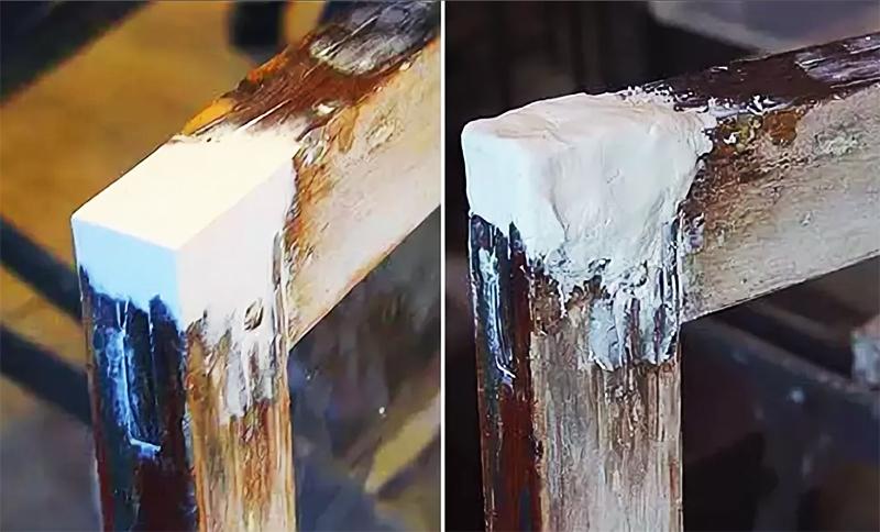 Этот состав будет достаточно прочным и долговечным, ведь в нём есть цемент