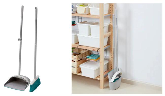 Компактный набор для уборки квартиры
