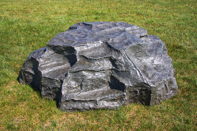 Каменный декор крышки