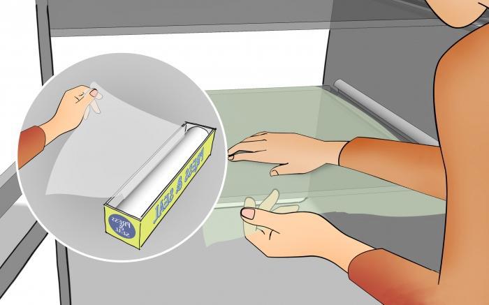 Плёнка в холодильнике