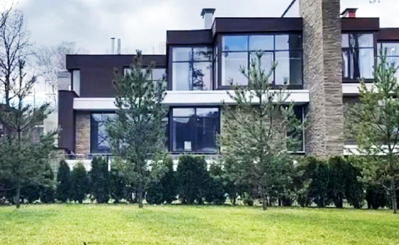 Шикарный дом Юлии Барановской