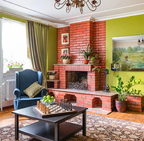 Долой обыденность: яркие акценты в интерьерах квартиры и загородного дома Светланы Зейналовой