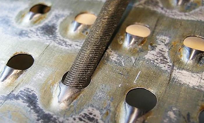 Заточка тёрки надфилем или напильником