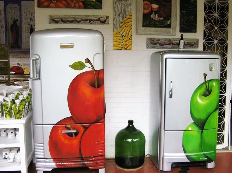 Даже самые доисторические агрегаты могут стать арт-объектом в вашей кухне