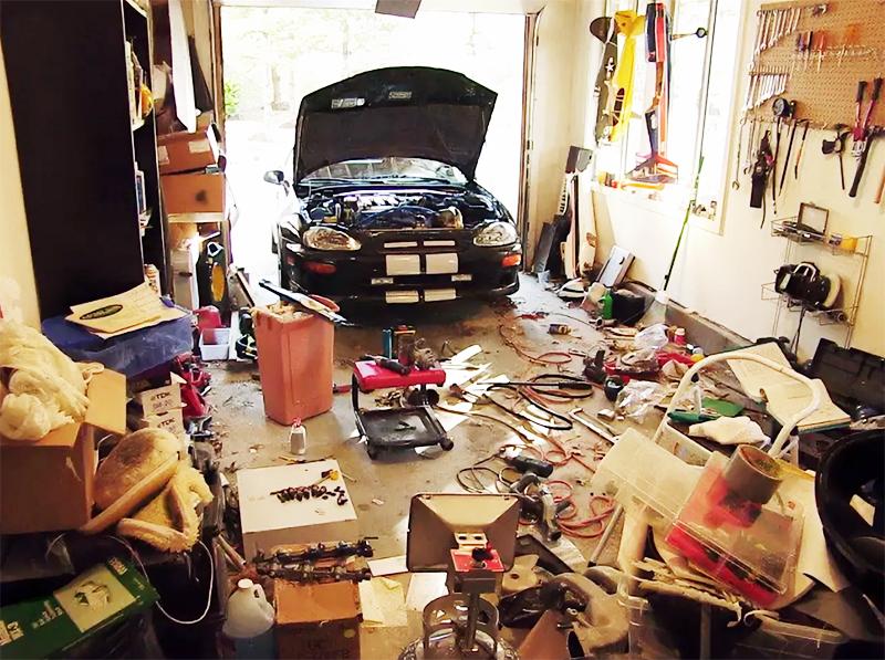 Как практично и эстетично оформить гараж