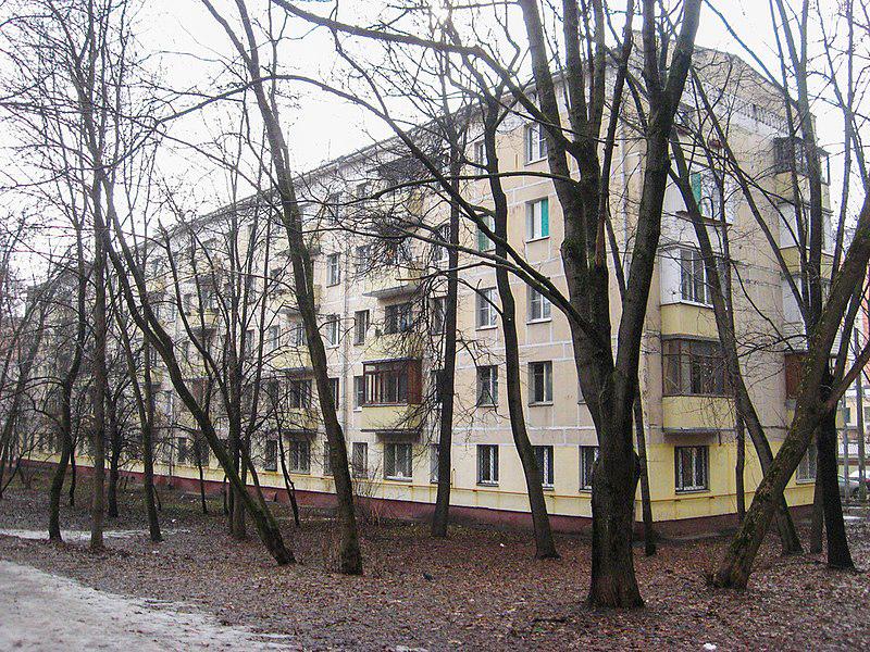 Типовая пятиэтажная хрущёвка