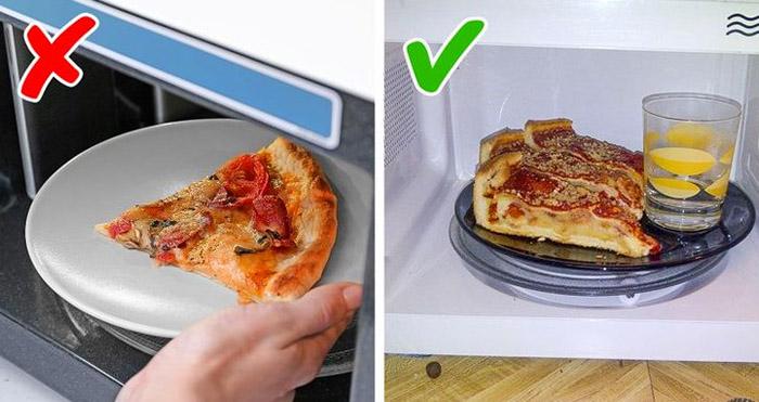 Правильный разогрев пиццы