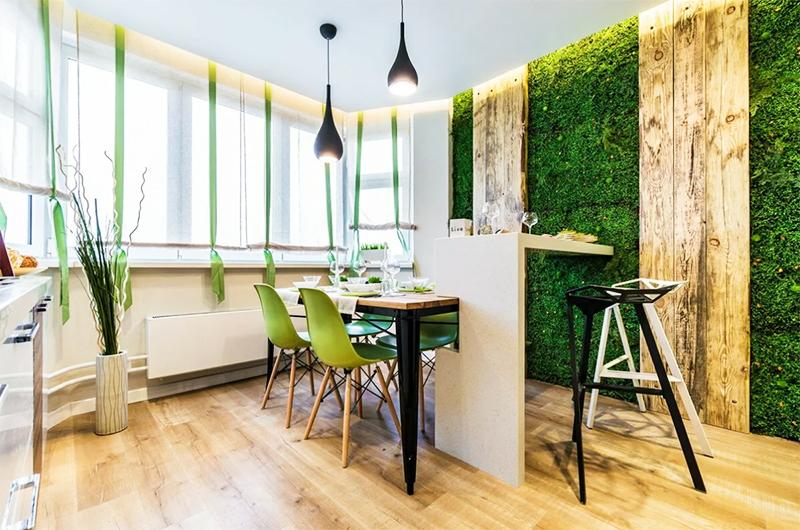 Живой мох в квартире