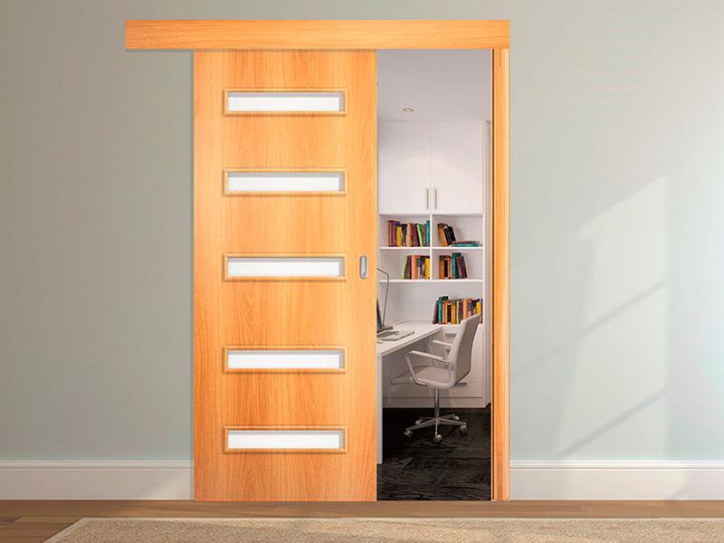 Но зато управлять дверью очень удобно, конструкция компактная, экономит место и органично вписывается в любой интерьер