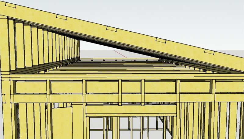 Односкатная крыша: за и против