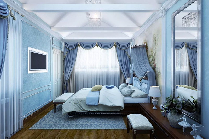 Более того, просыпаясь в голубой спальне, вы всегда будете вставать «с той ноги»